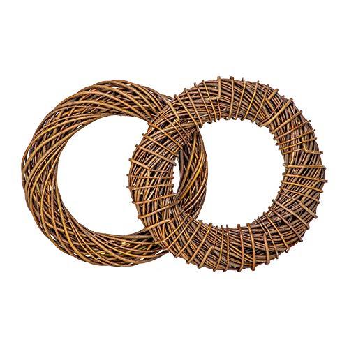 BooGardi Weidenkranz • 9 Größen • Ø 60cm • Dekoration aus Naturweide