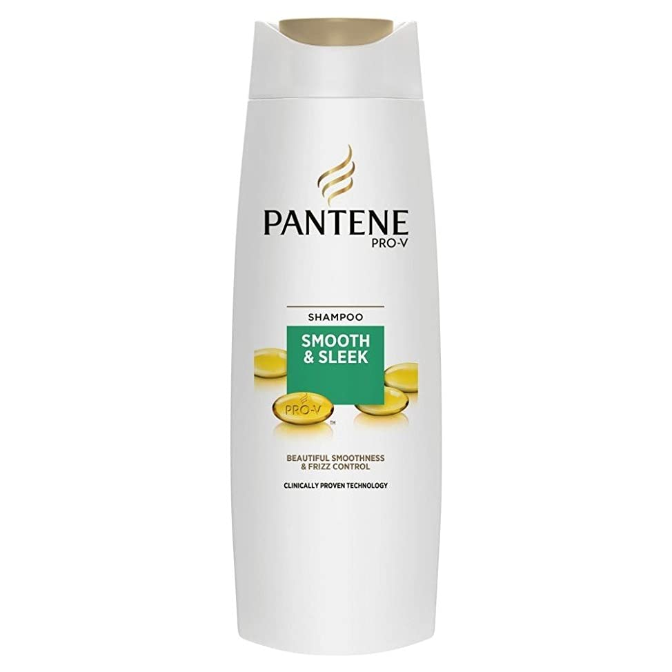グッゲンハイム美術館アンカー洋服Pantene Pro-V Smooth & Sleek Shampoo (400ml) パンテーンプロv滑らかで洗練されたシャンプー( 400ミリリットル) [並行輸入品]