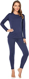 Sponsored Ad - WEERTI Thermal Underwear for Women Long Johns Women with Fleece Lined, Base Layer Women Cold Weather Top Bo...