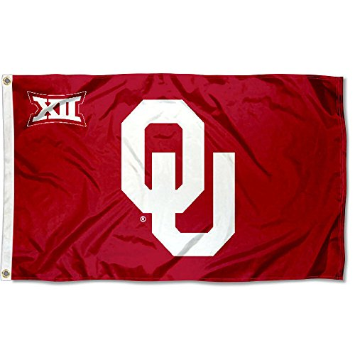 College Flags & Banners Co. Oklahoma Big 12 3x5 Flag