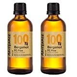 Naissance Bergamotte, furocumarinfrei (Nr. 100) 200ml (2x100ml) 100% reines ätherisches Bergamotteöl
