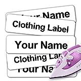 2000 etiquetas adhesivas para el nombre y la ropa de los niños, hechas a mano,...