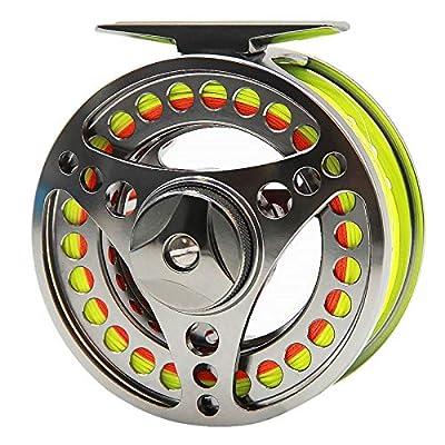 ANGLER DREAM Fly Fishing Reel wih Line Combo WF 3 5 8 WT Fly Reel Preloaded Fly Line Spool 3/4 5/6 7/8 9/10WT