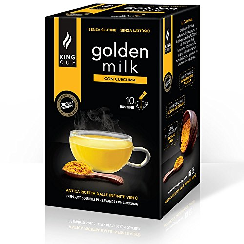 50 bustine solubili di Golden Milk