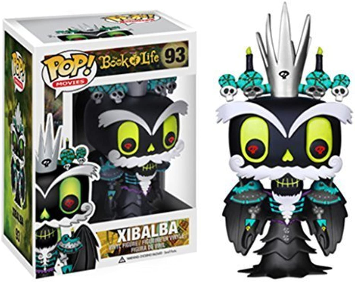 Funko POP Movies Action Figure  Book of Life - King Xibalba by Funko