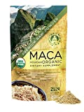 Maca Powder Organic - Peruvian Root Premium Grade Superfood (Raw)...