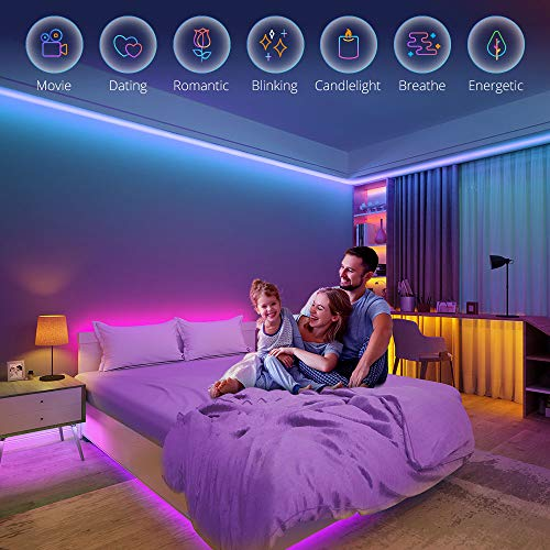 Govee Led Strip Lights, 16.4 Feet with App Control, Music Mode and 64 Scenes for Room, Kitchen 4