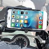 awhao Supporto per Telefono da Moto con Caricatore USB, Supporto per Telefono da Moto 4.0-6.3 con GPS per Navigazione Smartphone per R1200GS ADV S1000XR Classic