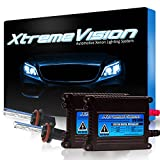 Xtremevision DC 35W Xenon HID Lights with Premium Slim Ballast - H11 8000K - 8K Medium Blue - 2 Year Warranty