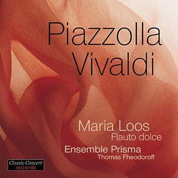Piazzolla - Vivaldi, Recorder by Maria Loos