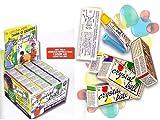 Zeus Party - Crystal Ball Confezione Intera da 24 Tubetti, 4 i Colori Disponibili