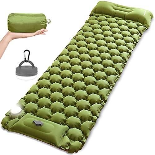 Top 10 Best self inflating sleeping pad Reviews