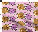 Erdnussbutter, Gelee, Sandwich, Pausenbrot, Bus, Kinder