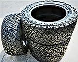 Set of 4 (FOUR) Venom Power Terra Hunter X/T All-Terrain Radial Tires-35X12.50R20 LT 121R LRE 10-Ply