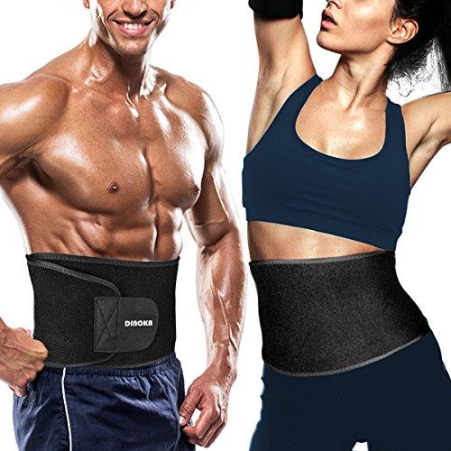 for women /& Man Slimming Belt,sweet sweat,Weight Loss Belt,Adjustable Belly Fat Burner Sweat,velcro sweats,best stomach exercises waist trainer Bingo Trade Waist Trimmer