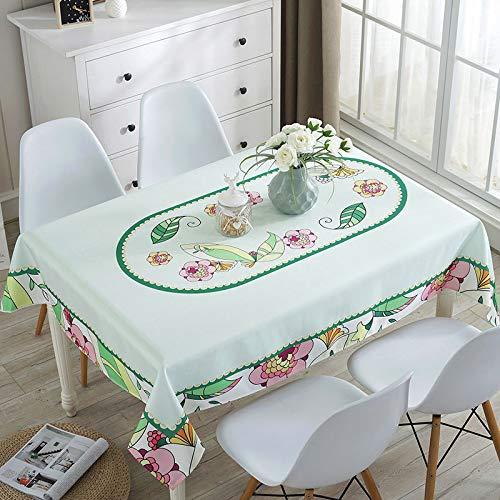 GYHJG Mantel Impermeable para El Hogar Mantel Coreano A Prueba De Polvo Toalla Cubierta A Prueba De Polvo