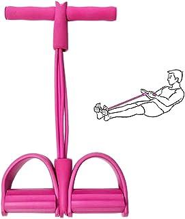 Andoer Fitness Puxar Corda Musculação Tensão Corda Elástica Puxar Corda Pedal Exercício Faixa de Resistência para Abdômen ...