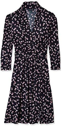French Connection Women's Jersey Wrap Dresses, Eloise Utility Blue, 0