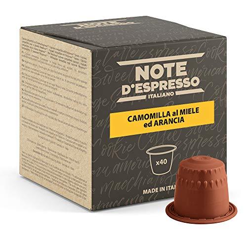 Note d'Espresso Italiano - Cápsulas de manzanilla con miel