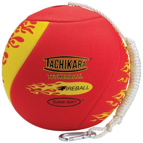 Tachikara Fireball Superweicher Tetherball mit diamantstrukturiertem Bezug