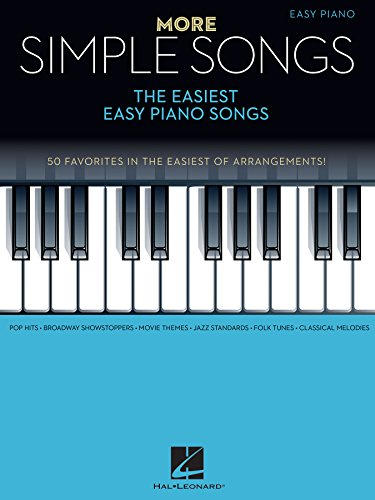 More Simple Songs: The Easiest Easy Piano Songs (English Edition)