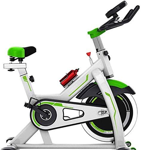 ZOUSHUAIDEDIAN Bicicleta estacionaria bicicleta estática correa de transmisión cubierta ciclo de la bici for el hogar Cardio entrenamiento de la bici del volante Heavy Duty Bicicletas, Resistencia Rot