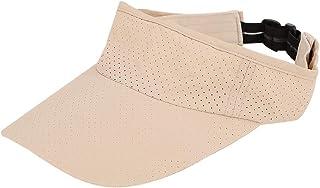 قبعة بيسبول شبكية قابلة للتعديل من الشمس للرجال والنساء قبعة رياضية جولف للجري