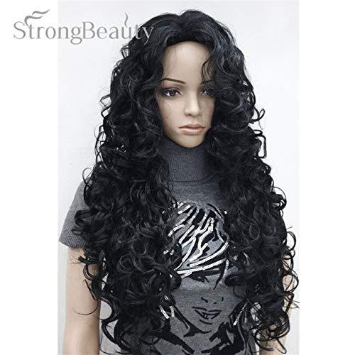 JPDP Strong Beauty Blonde Light Gold Brown Blonde Long Curly Synthetic Full Wigs Perruques pour femmes Beaucoup de couleurs pour choisir 26 pouces # 1