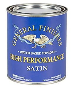 General Finishes High-Performance Water Based Topcoat