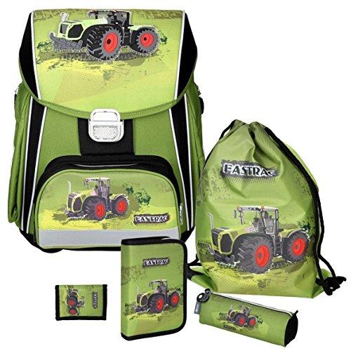 Spirit Green Tractor Power - Traktor - Leicht-Schulranzen-Set 5teilig