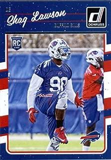 2016 Donruss #339 Shaq Lawson Buffalo Bills Football Rookie Card-MINT