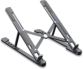Laptop Stand, Aluminum Alloy, 8 Stalls Adjustable, Foldable Housing, Portable,L
