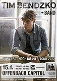 Tim Bendzko & Band - Noch nie Hier, Frankfurt 2012 »