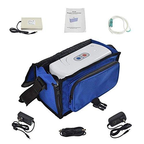 TOPQSC Portable inländischen Sauerstoffkonzentrator Generator, 3L/min 30{1c5025e663be68c23aba310b55cfdb8d2b3006f4d996899785732067e162fcbb} Reinheit Sauerstoff Bar Maschinen geeignet für Auto Reisen und Heimgebrauch - 220V ~ 240V