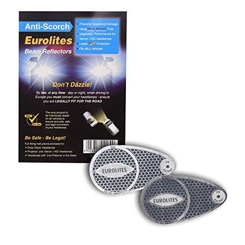 Eurolites Headlamp Adaptors for Driving in Europ