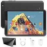 Tablet 8 Pulgadas - Google Android 10.0 Certificado por Google GMS, 3GB de RAM + 32GB de ROM/128GB,Cuatro-Core, 1280 × 800 IPS ,Batería 6500mAh,WiFi, Bluetooth (Negro)