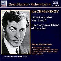 Rachmaninov: Piano Concertos Nos. 1 and 2, Rhapsody on a Theme of Paganini (2006-08-01)