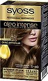 SYOSS Oleo Intense Permanente Öl-Coloration 5-60 Karamellbraun, mit pflegendem Öl & ohne Ammoniak,...