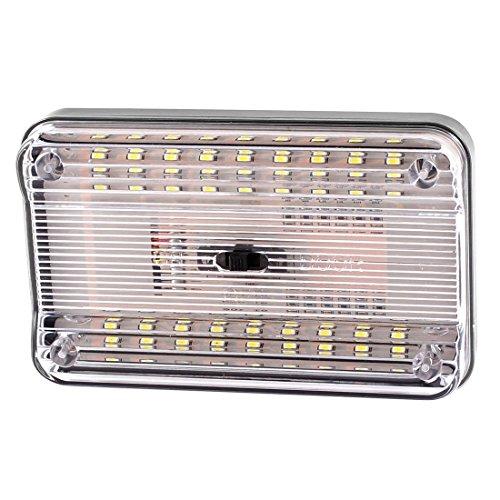 Luz LED de techo de coche - TOOGOO(R) Luz interior de tencho de 36 SMD LED de color blanco
