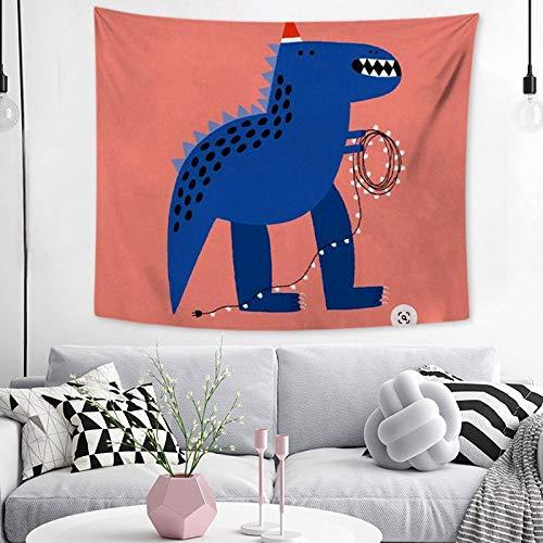 KHKJ Tapiz de Animales de Dibujos Animados Creativo Colgante de Pared Tapiz de Pared nórdico Lindo Tapiz de Tela de Pared de Alfombra A3 150x130cm
