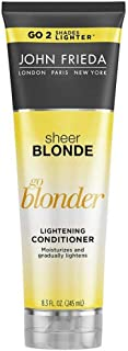 john frieda Sheer Blonde Go Blonder Lightening conditioner 245ml