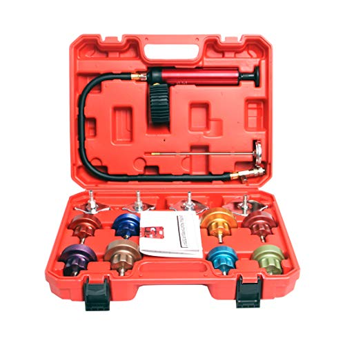 14PCS Cooling System Leak Tester Universal Car Radiator...