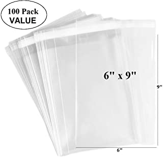 """10 Clear Cellophane Cello Greeting Cards Bags 16.25/"""" x 20/"""""""