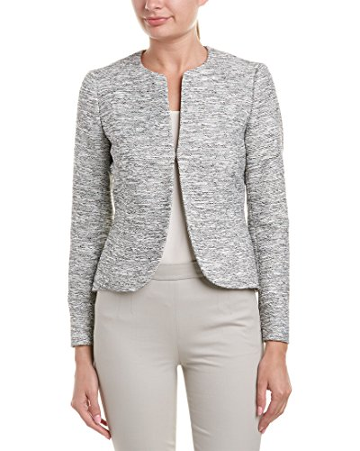 Anne Klein Women's Tweed Tulip Jacket