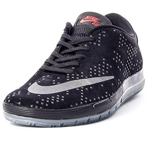 Nike Free Sb PRM Flash, Herren Skaterschuhe, Mehrfarbig - Schwarz/Grau (Schwarz/Schwarz-Clear) - Größe: EU 41