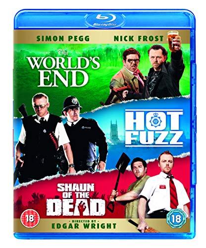 Three Flavours Cornetto Trilogy: The World's End / Hot Fuzz / Shaun of the Dead [Blu-ray] [Reino Unido]