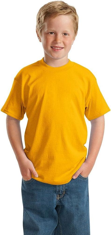 Hanes Boys ComfortBlend EcoSmart 50/50 Cotton/Poly T-Shirt