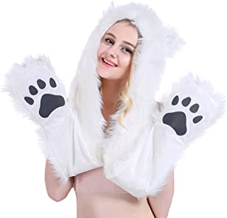 Best fur bear hat with paws Reviews