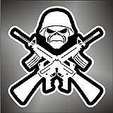 Graphic-lab - Pegatinas de Iron Maiden hip hop Rap Jazz Hard Rock pop Funk...