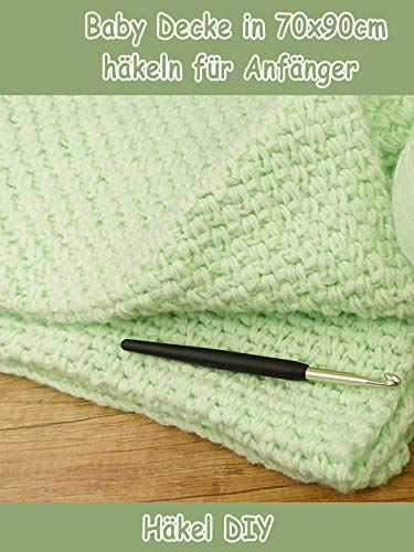 Clip: Baby Decke in 70x90cm häkeln für Anfänger - Häkel DIY